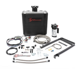 Snow Performance 07-17 Dodge 6.7L Stg 3 Boost Cooler Water Injection Kit (SS Braided Line & 4AN)
