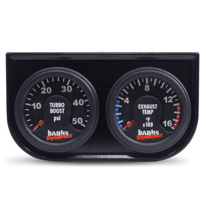 Banks Power 98-02 Dodge 5.9L (w/ New AutoMind) Dynafact Elect Gauge Assembly