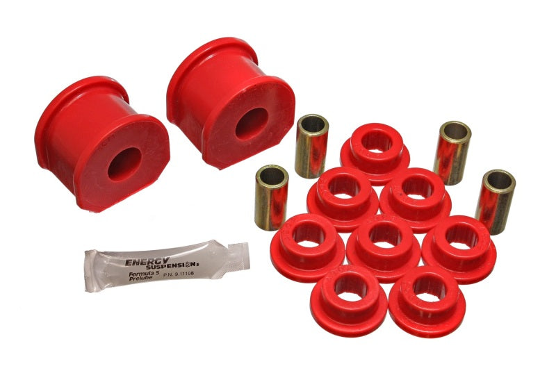 Energy Suspension Ford Truck 3/4in Dia 2in Tall inAin Style Rear Sway Bar Bushing Set - Red