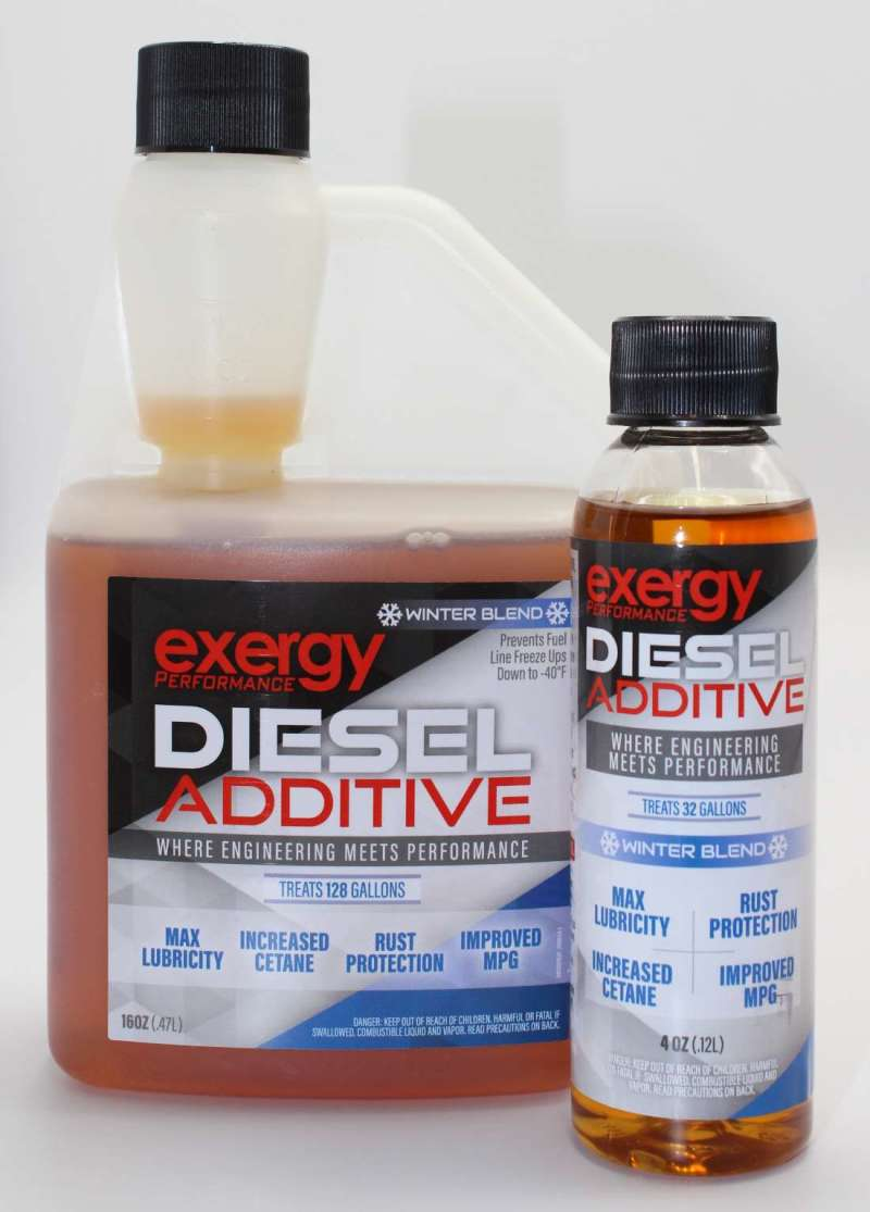 Exergy Diesel Additive 4oz Winter Blend- Case of 12