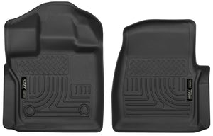 Husky Liners 2015+ Ford F-150 Standard Cab X-Act Contour Black Floor Liners