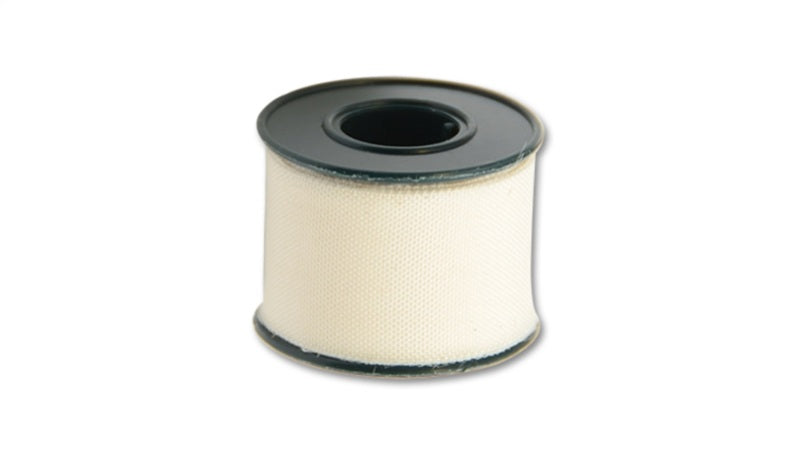 Vibrant 2 Meter (6-1/2 Feet) Roll of White Adhesive Clean Cut Tape
