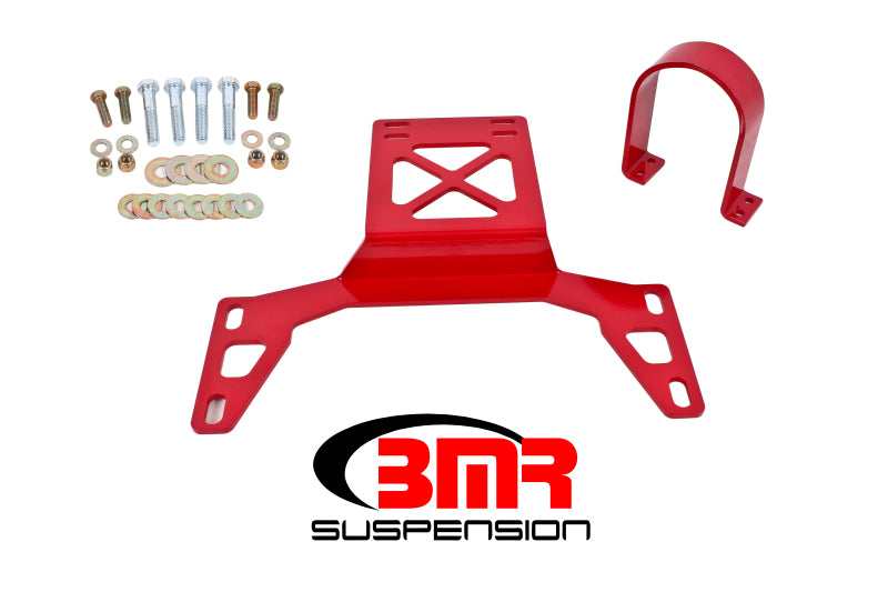 BMR 07-14 Shelby GT500 Front Driveshaft Safety Loop - Red