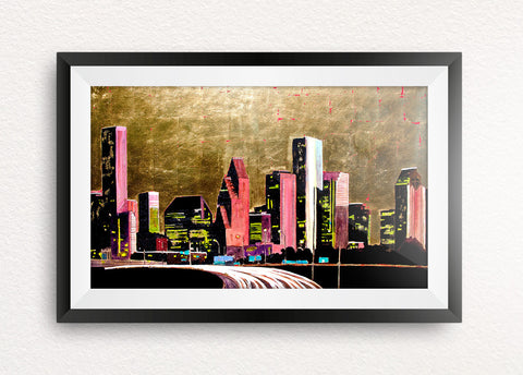 Houston for Life Giclée Print