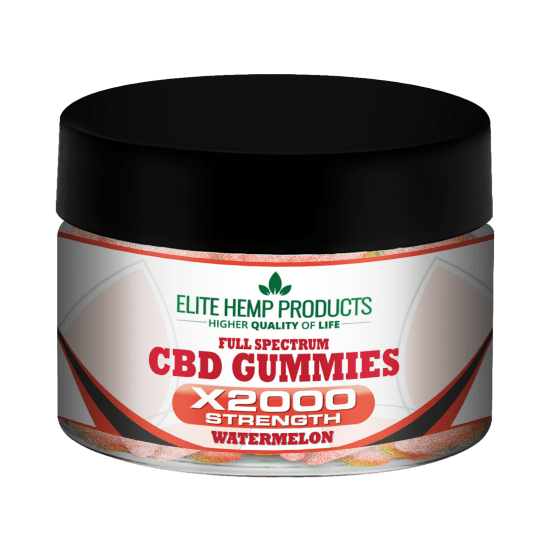 CBD Splash Gummy x2000 Strength
