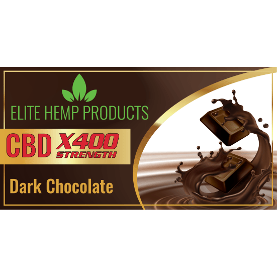 CBD Chocolate – Dark Chocolate x400