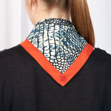 Load image into Gallery viewer, REPTILE Recycled Polyester Scarf