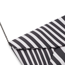 Load image into Gallery viewer, FUNKY STRIPE Silk Clutch