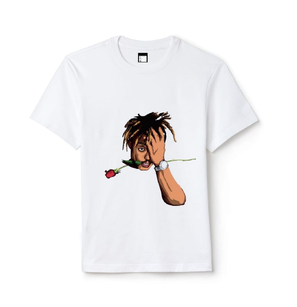 Juice World Rose Artist Printed Tshirt
