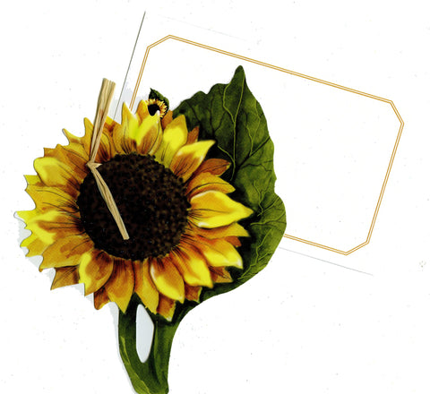 GAW899W Sunflower Greeting Card