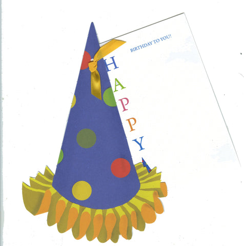 GAW1079 Party Hardy with Glitter Birthday Card