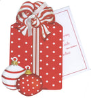 GHW746 Red Box with Ornaments Greeting Card