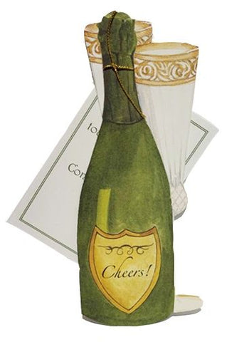Cheers! Toast Greeting Card - GAD774