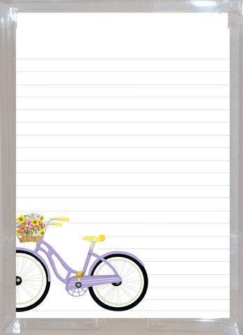 AL105 Bicycle with Flowers