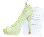 GAW1029W Glam Shoe Greeting Card