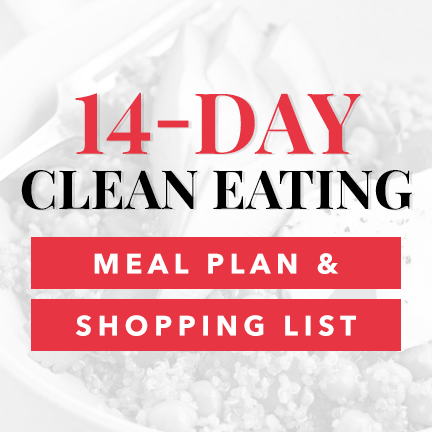 14-Day Clean Eating Meal Plan & Shopping List Download