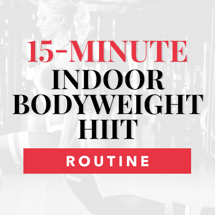 15-Minute Bodyweight HIIT Routine