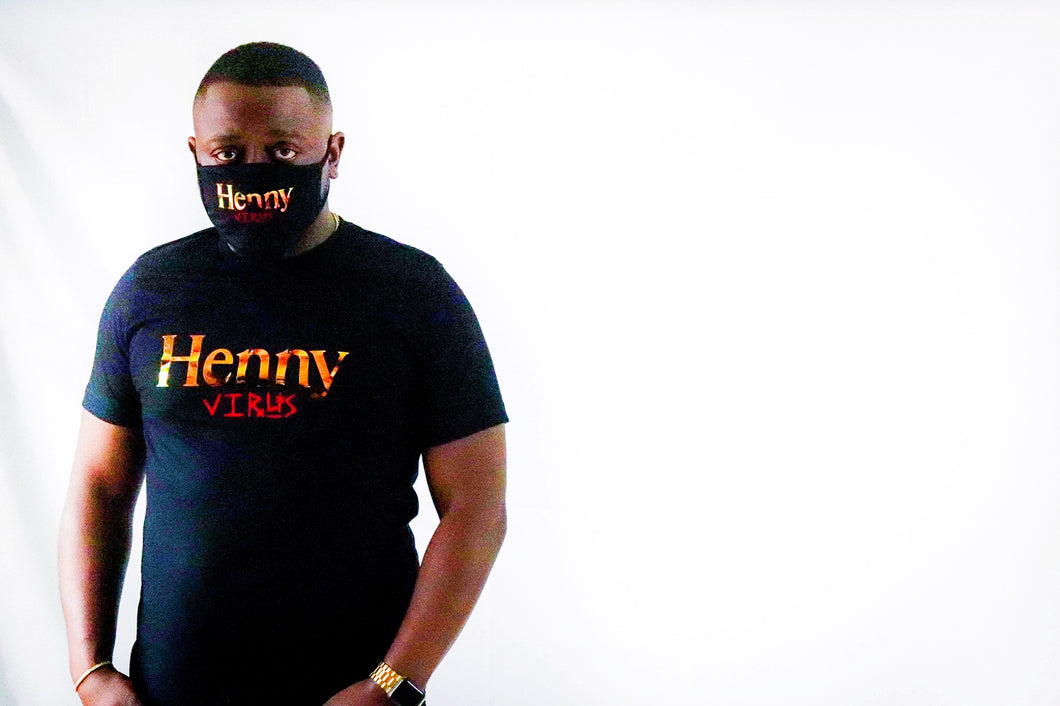 Black Henny Virus Mask