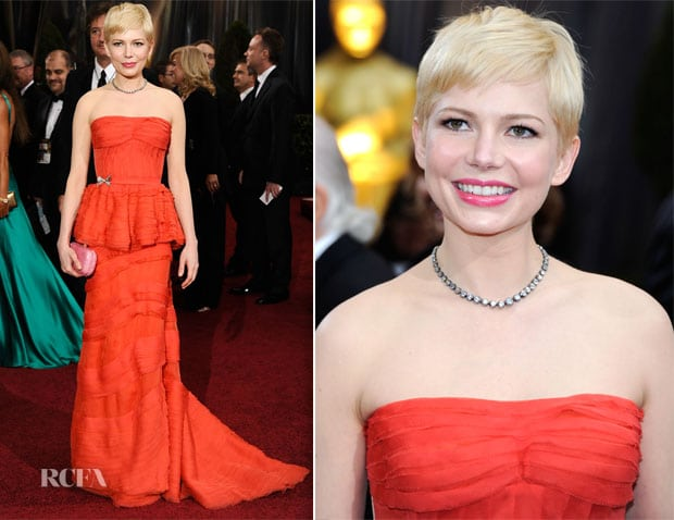 Michelle Williams in Spring Colors
