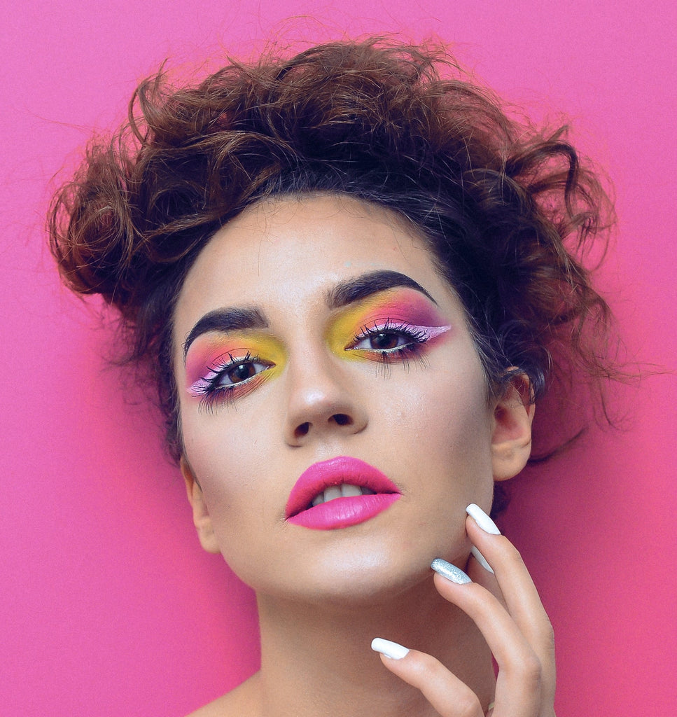Too Much Bright Makeup