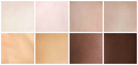 Winter Skin Tones