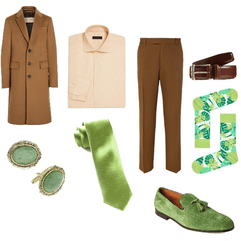 Spring Fall Outfit for Men