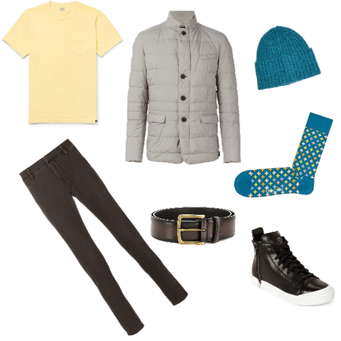 Spring Casual Fall Outfit Men
