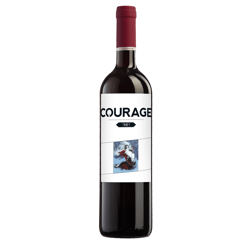 2HA Courage Cuvée- Dry Red Wine - 2012