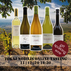 Tokaj Nobilis Wine Box for Online Wine Tasting