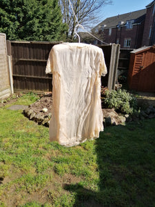 How to wash Antique silk clothes or fabric.
