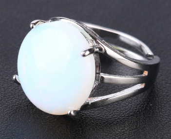 Opal Resizable Ring