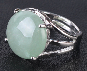 Green Aventurine Resizable Ring