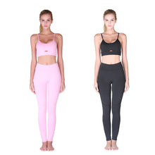 Load image into Gallery viewer, 2 Piece Set Women's Sexy Camisole Sports Set, Yoga  Sportswear Bra and Stretch Pants Set.