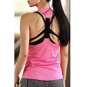 Women Yoga Top,  Sleeveless Shirts Tank Tops Singlets.
