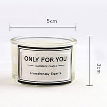Load image into Gallery viewer, 2PCS Small Round Cup Aromatherapy Candle Handmade Gift Romantic Candle