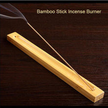 Load image into Gallery viewer, Bamboo Material Stick  Incense Holder ash catcher