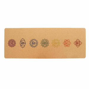 183X61cm Non-slip Yoga Mat 5MM Natural Cork