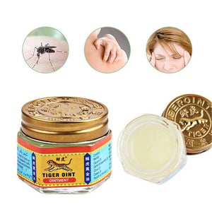 100% Original Red Tiger Balm Ointment Thailand Painkiller Ointment Essential Oil Muscle Pain Relief
