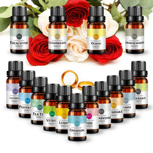 10ml Essential Oils Kits -Natural Aroma Oil- Body Massage Oil - Multiple Sets