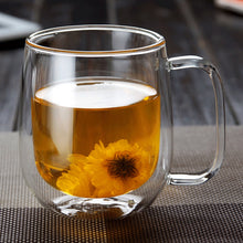 Load image into Gallery viewer, 1pc LASPERAL Coffee - Tea  Mug / Cup  Double Wall Glass Thermal Insulated Tea  Cup.