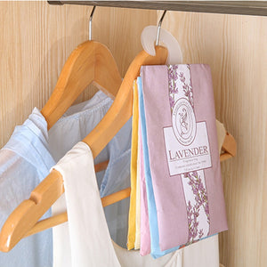 Portable Anti-insect Anti-mold Air Hanging Aromatherapy Air Freshening Bag  For Closet