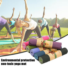 Load image into Gallery viewer, Universal Outdoor 6mm  Non-slip Yoga Mats - Pilates