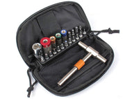 65, 45, 25 & 15 INCH LBS KIT WITH DELUXE CASE, T-HANDLE