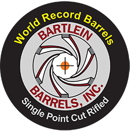 Bartlein Barrel F-Class 1.250 Straight cylinder 7mm (284) Cal, 1-8.5 rate of twist