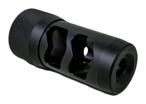 Hellfire Self timing muzzle brake 2 ports w/adapter