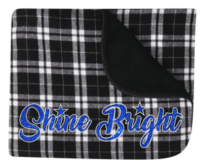 Shine Bright Plaid Blanket
