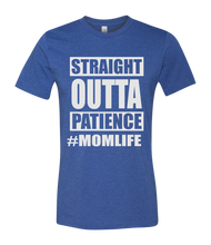 Load image into Gallery viewer, Straight Outta Patience Short Sleeve Graphic T-shirt