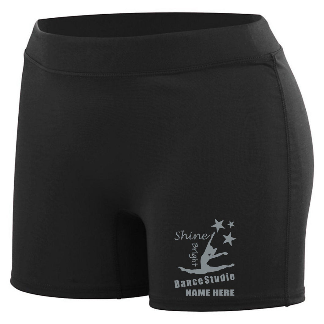 Shine Bright Brushed Enthuse Shorts