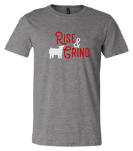 Load image into Gallery viewer, Rise & Grind Short-Sleeve Graphic T-shirt