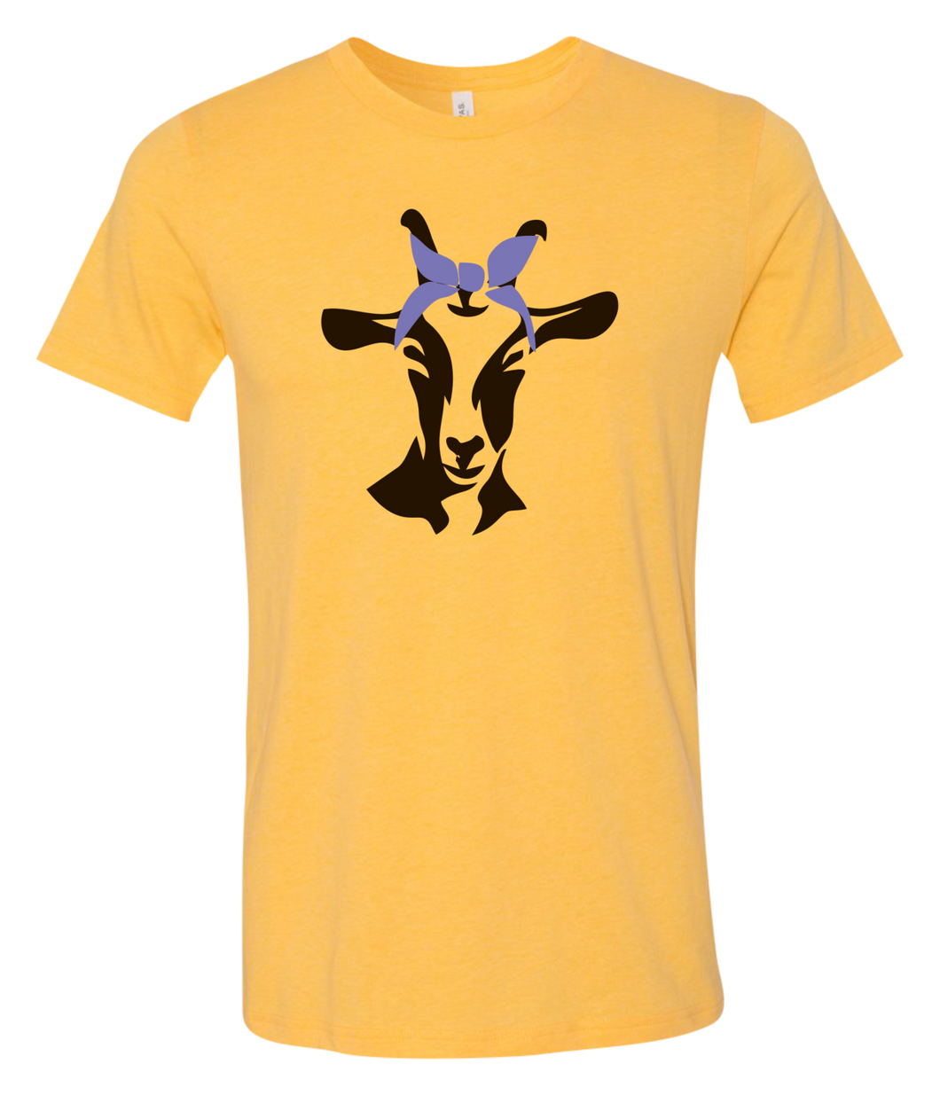 Goat with Bow Short-Sleeve Graphic T-shirt